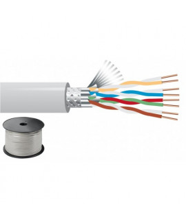 Câble réseau 100 m CAT-6 Blindage multiple