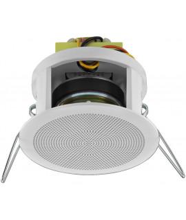 EDL-22/WS Haut-parleur plafond 6 Watts 100 V