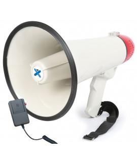 MEG040 Mégaphone 40 Watts avec sirène et micro