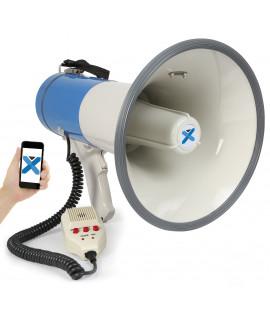 MEG055 Mégaphone 50 Watts avec sirène micro BT