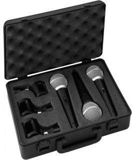 DM-3SET 3 Microphones pour jouer les futurs chanteurs