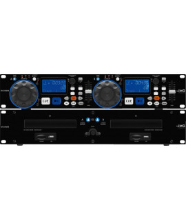 CD-230USB Lecteur CD Double MP3 - USB2.0 IMG STAGE LINE