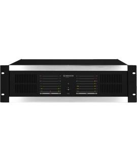 STA-1504 Amplificateur Multi-canaux professionnel 4 x 100 W sous 8 ohms