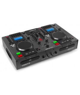 CDJ450 Double Lecteur CD à plat MP3 - USB - BT VONYX
