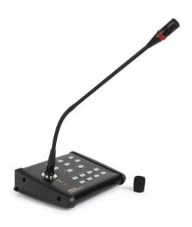 MZ-648 Pupitre microphone 6 Zones pour amplificateur MPZ-6480RGU