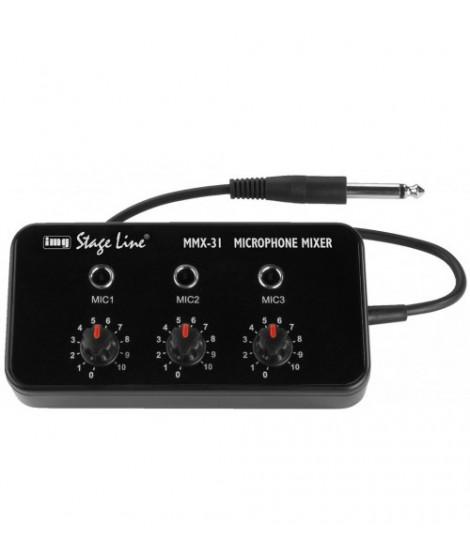Mmx 31 Table De Mixage Miniature Pour Microphones Img Stageline Tlsa