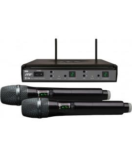 E-7HHSETD/5 Système double micro UHF sans fil