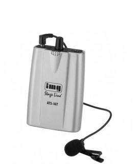 ATS-16T Émetteur PLL 16 Canaux Pro pour visites guidées