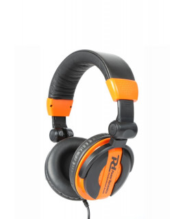 100.881 Casque DJ noir et orange PH200