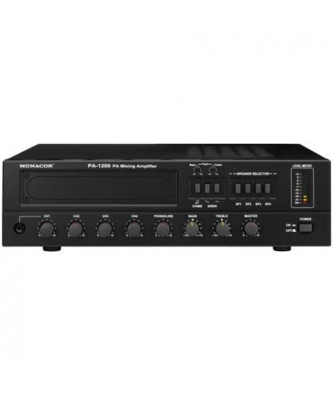 PA-1200 Amplificateur-Mixeur 4 zones 120 W