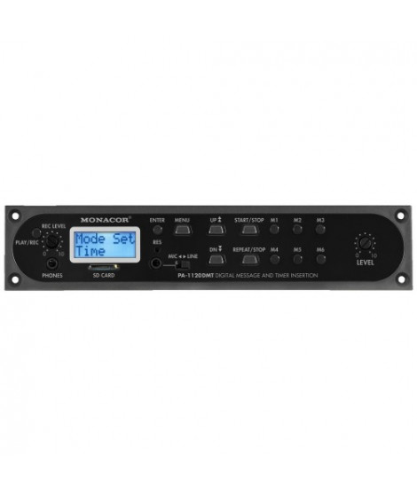 PA-1120DMT Module diffuseur de messages digitaux et timer