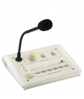 PA-1120RC Microphone de table 5 zones