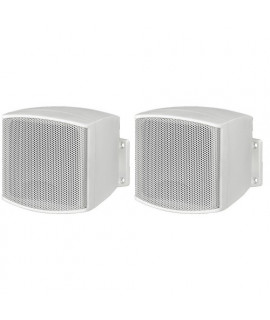 EUL-26/WS Paire d'enceintes miniatures 6 Watts  100 V