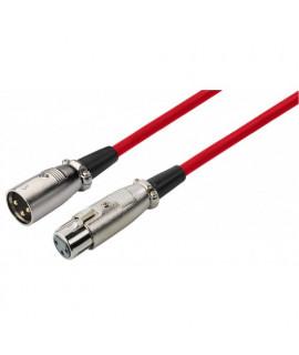 MEC-100/RT Câble XLR micro 1 mètre