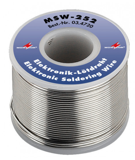 MSW-252 Fil de soudure sans plomb pour l'électronique