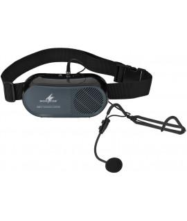 WAP-5  Porte voix ceinture 7 W micro serre tête électret