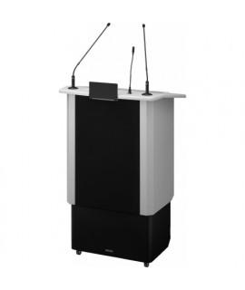 SPEECH-500/GR  Pupitre professionnel de conférence amplifié 50 W RMS