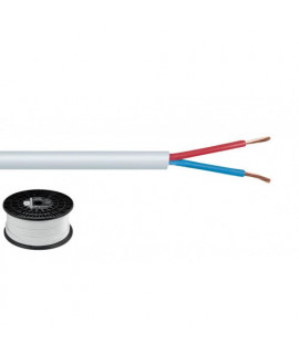 SPC-515/WS Câble haut-parleur Bobine 100 mètres 2 x 1,5 mm²