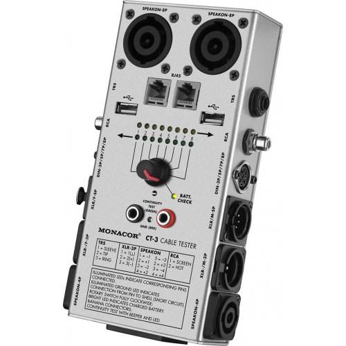 Monacor 29.2060 XLR Testeur de fonction