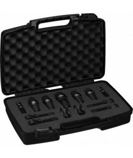 Set de 7 microphones pour batteries DRUMSET-1