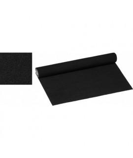 CC-140V/SW Tissu en velours non tissé auto-collant noir
