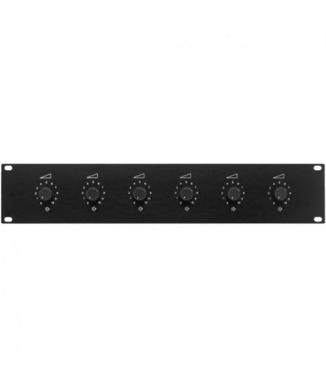 ATT-1950 Panneau de volume 6 x 50 Watts