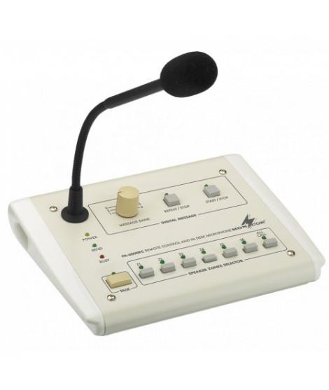 PA-6000RC Pupitre microphone 6 zones