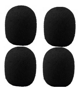 WS-150/SW Bonnettes de protection pour micro en mousse noire