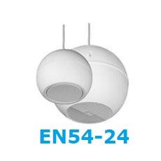 Haut-parleurs certifiés EN54-24